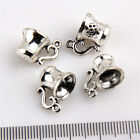 6/20/100Pcs Coffee Cup Wine Cup Tea Cup #3 Charms Pendants Beads 15mm