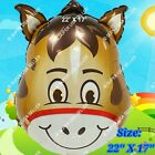HUGE HORSE JUNGLE SAFARI BALLOONS BARN ANIMAL Decor Shower Birthday Party Supply