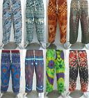 Mens Womens Baggy Harem Pants Aladdin Hippie Trousers Alibaba Yoga Gypsy Summer