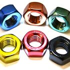 M4 GWR Colourfast® Hex Full Nuts - A2 Stainless Steel - Coloured Hexagon Nut