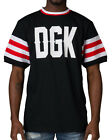 DGK From Nothing Soccer Jersey T-Shirt Tee Black Rare Mens Size M NEW
