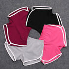 Women Summer Pants Sport Shorts Gym Workout Waistband Skinny Yoga Shorts New