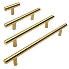 Cosmas Cabinet Hardware Brushed Brass 305 Series Euro Style Bar Pulls & Knobs