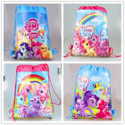 Easter New My Little Pony Girls Drawstring Bag Backpack Kids Beach Party Gift
