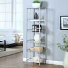 Storage Rack 3/5/6-Tier Organizer Kitchen Corner Shelving Steel Wire Shelves NEW