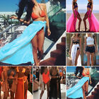 Women Chiffon Beach Dress Swimwear Scarf  Maxi Skirt Cover-Up Wrap Kaftan Sarong