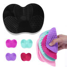 Medium Makeup Brush Cleaner Cleaning Cosmetic Scrubber Board Mat Silicone Pad UK