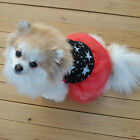 1x Dog Dress Cotton Princess Pet Puppy Clothes Lace Skirt For Party Summer
