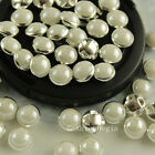 144pcs 6mm sewing on color pearl Stitch on Montees Wedding Craft Costume Dress