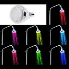 7 Colors Changing LED Shower Water Colorful Head Home Bathroom Faucet Glow Light