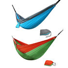 Portable Double Person Travel Camping Hammock Swing Parachute Nylon Fabric