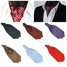 Fashion Men Slim Long Silk Scarves/Cravat Tie Party Wedding Office ClassicTie