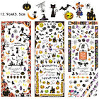 Halloween Nail Art Stickers Water Transfer Decal 3Sheets/lot