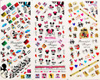 Cute Cartoon DIY Nail Art Sticker Water Transfer Decoration Tips Mickey Mouse