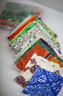 Fabric-Craft-Patchwork-Sewing Bee INDIAN HAND STAMPED FABRIC SWATCHES 180g Pack