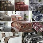 Asian African Indian Elephant Safari Duvet Quilt Cover Bedding Sets - 7 Designs