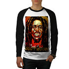 Bob Marley Singer Reggae Men Baseball LS T-shirt S-2XL NEW | Wellcoda