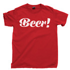 BEER T Shirt Party Bar Drinking Tee Husband Fathers Day Dad Uncle Boyfriend Gift