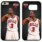 Chicago Bulls Dwyane Wade Hard Phone Case Cover For iPhone / Touch / Samsung