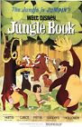 Vintage Jungle Book Movie Poster A3/A2/A1 Print