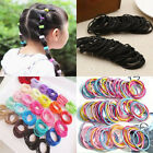100pcs Salec Women Elastic Rope Hair Ties Ponytail Headband Gift Hairbands