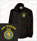 HMS FEARLESS Crested Embroidered Fleeces