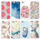 Coque Chat Cerf Soutien-Gorge silicone TPU gel housse Case iPhone4 5s 5C 6 7plus