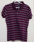 STEVE & BARRY'S BRAND STRIPED POLO STYLE SHIRT