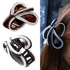 Women Girls Butterfly Crystal Rhinestone Hair Claw Hair Clamp Clip Accessory 1PC