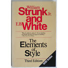 Elements of Style 3rd Edition Strunk White Writing Editing Paperback - Excellent