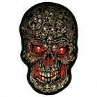 Embroidered SKULL MAKES SKULLS PATCH