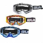 Wulfsport Adults Mens Geo Motocross MX Enduro Quad Motor Bike Goggles
