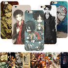 Funny Anime Attack on Titan Printed Phone Case Cover Skins For iPhone 5/6/7 Plus