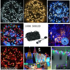 100m 500 Leds Christmas String Fairy Lights Indoor Outdoor Xmas Tree Party Lamp