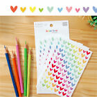 Colorful Star Love Shape Stickers For School Children Teacher Reward DIY LACA