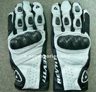 REV'IT! Airvolution Motorcycle Bike Gloves Black&White