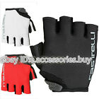 Castelli S. Uno Short Finger Bike Cycling Gloves Red/Black/White M/L
