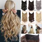 Deluxe Real Thikc Wire Headband One Piece No Clip in on Hair Extensions 1Pcs T66