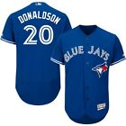 Josh Donaldson Mens Toronto Blue Jays Royal Cool Flexbase Player Jersey