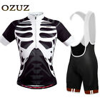 OZUZ Mens Cycling Jersey Short Sleeve Clothing Bicycle Sweat Absorption L