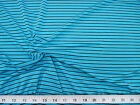 Discount Fabric Printed Nylon Lycra Spandex Blue and Black Striped 707LY