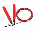 Jump Skipping Rope Ball Bearing Swivel 3 Metre Cable Fitness Cardio Boxing Pro
