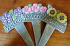 Terracotta Garden Welcome Sign - 3 Styles to Choose!!