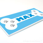 DOG HOUSE NAME PLAQUE - Personalised pet home kennel bed indoor outdoor sign