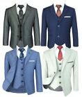 Clearance Save On 3pc Boys Suit Kids Piping Suit Tuxedos Wedding Prom Party Suit