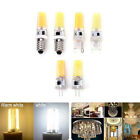 Mini Dimmable G4 G9 E14 COB SMD LED Silicone Crystal Light Lamp Bulb 9W 220V2q