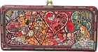 DIVERSION Disney Characters stained glass motif designed Purse Wallet F/S JAPAN