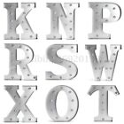 12'' Marquee Alphabet Letter Lights LED Light Up Sign N To Z Standing / Hanging