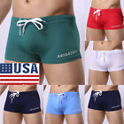 Fashion Men's Boxer Briefs Swimming Swim Board Shorts Trunks Swimwear Underwear