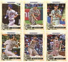 2017 Topps Gypsy Queen Baseball - Base Set Cards - Pick From Card #'s 1-150